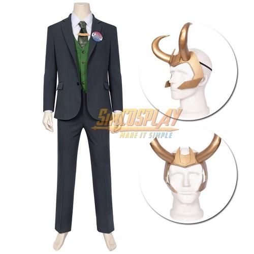 LOKI Cosplay Costumes 2021 New LOKI Cosplay Suit