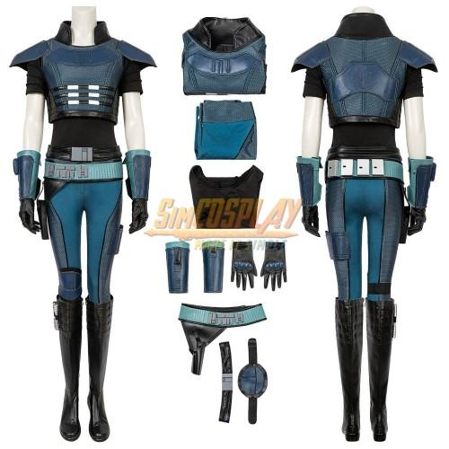 Mandalorian Cara Dune Cosplay Costume Top Level Ver.2