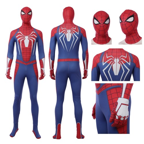 Marvel spider-man suit spider-man cosplay costumes playstation 4 verison top level