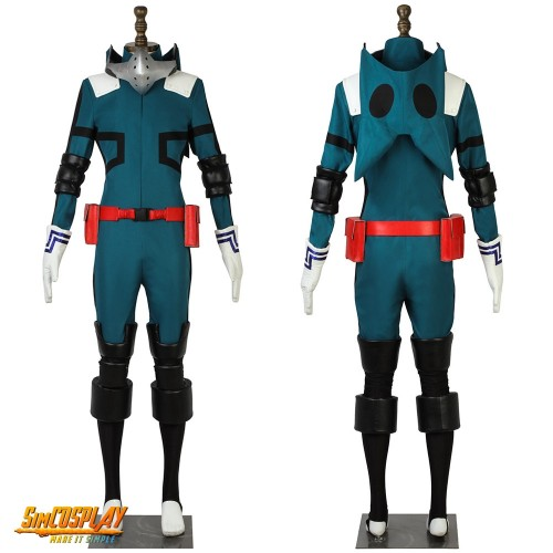 My Hero Academia Midoriya Izuku Deku Hero Cosplay Costume