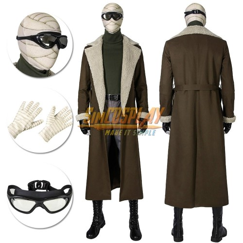 Negative Man Costume Doom Patrol Season 1 Larry Trainor Cosplay Suit Top Level