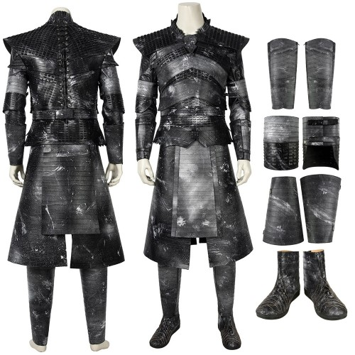 Night King Cosplay Costumes With Masks Game of Thrones S8 Cosplay Suit