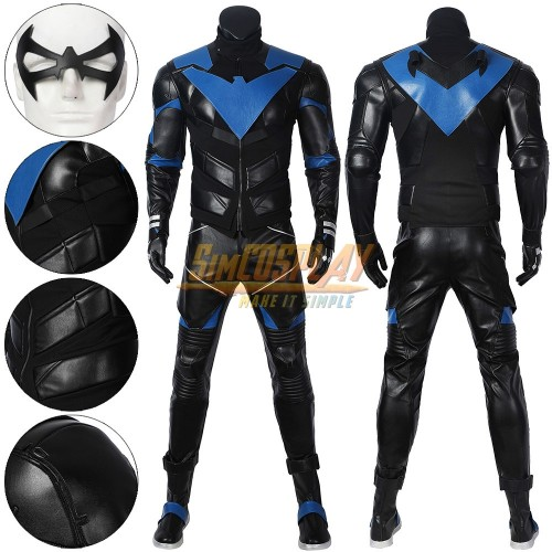 Nightwing Gotham Knights Cosplay Dress Up Costumes SimCosplay