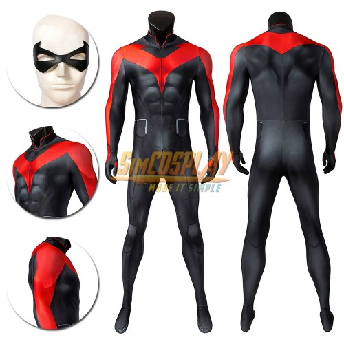 Nightwing Cosplay Suit Teen Titans The Judas Contract Cosplay Costumes