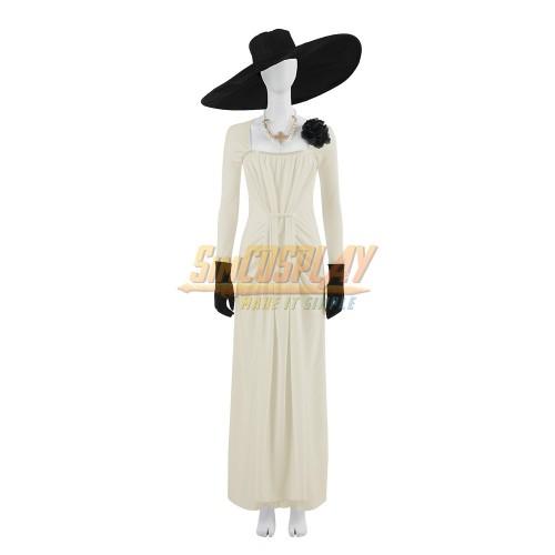 Resident Evil Village Vampire Lady Dimitrescu Cosplay Costume
