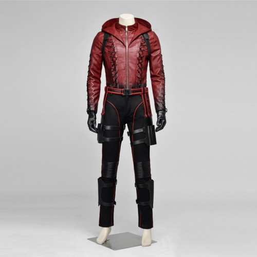Red Arrow Roy Harper Cosplay Costumes sim1126rarh