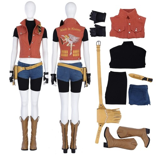 Resident Evil 7 Claire Redfield Made In Heaven Cosplay Costume