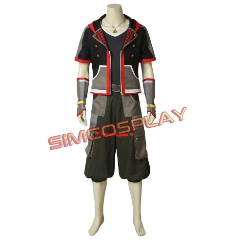 Kingdom Hearts 3 Sora Cosplay Costume Game Cosplay Outfit