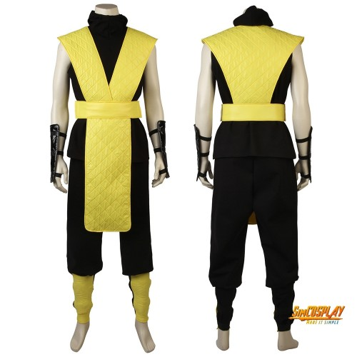 Scorpion Cosplay Costume Mortal Kombat Cosplay Outfits
