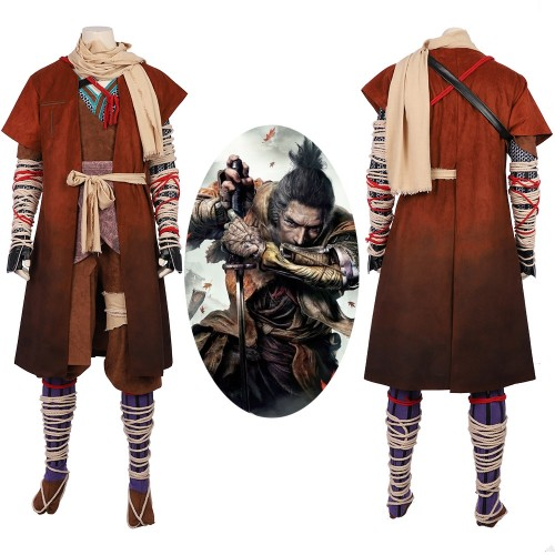 Sekiro Shadows Die Twice Cosplay Costume Deluxe Version