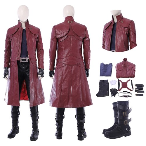 2018 Devil May Cry 5 Dante Cosplay Costume Top Level