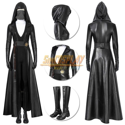 Sister Night Cosplay Costume Watchmen Season 1 Angela Abar Suit Top Level