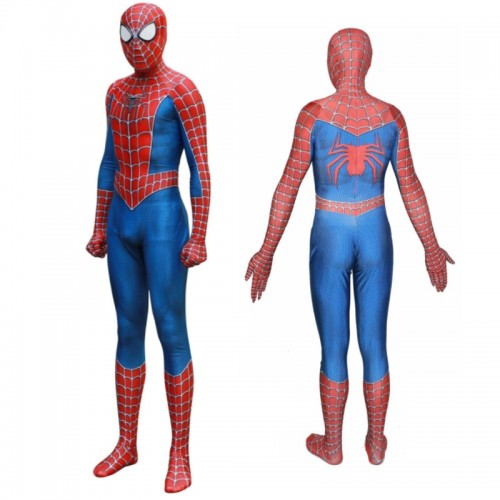 Spider-man Classic Cosplay Suit Peter Parker Costume Jumpsuit