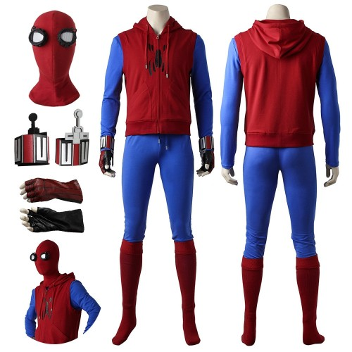 Spider-man Homecoming Cosplay Costume The Homemade Suit Ver.2