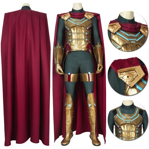 Spiderman Far From Home Quentin Beck Mysterio Cosplay Costume Easy Use Edition