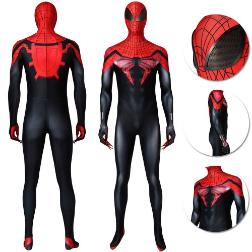 Superior Spider-man Cosplay Costume Superior Spiderman Suits Ver.2