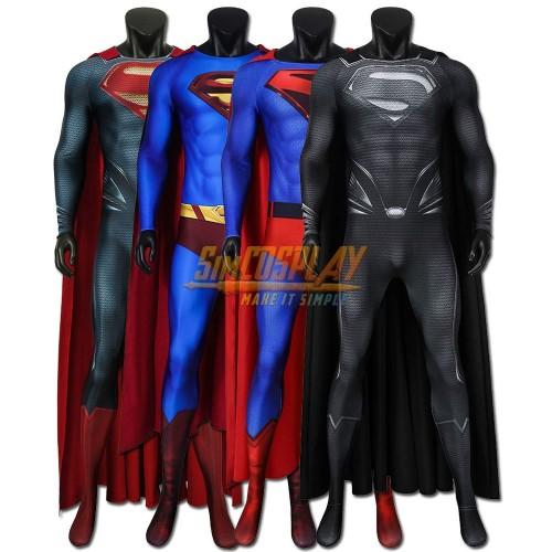 Superman Costume Spandex Superman Cosplay Suit Justice League / Crisis on Infinite Earths/ Man of Steel