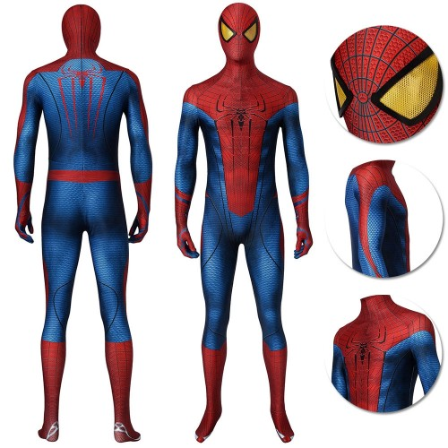 The Amazing Spider-Man Peter Parker Suit HD Cosplay Costume Edition