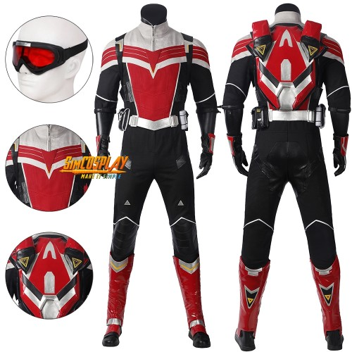 The Falcon Cosplay Costume The Falcon and the Winter Soldier Dress Up Suit Top Level