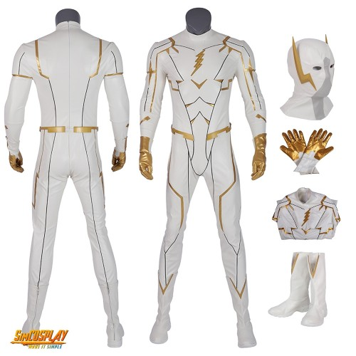 The Flash Season 5 GodSpeed Cosplay Costumes Top Level