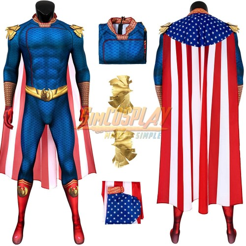 The Homelander Cosplay Costume The Boys S2 Homelander Spandex Suit