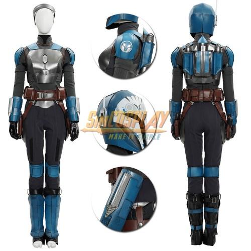The Mandalorian Bo-Katan Cosplay Costumes Top Level