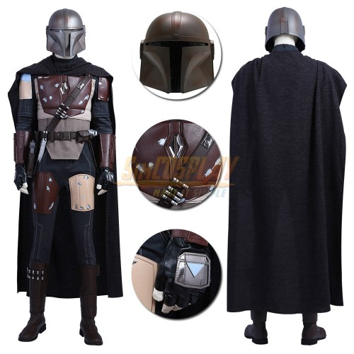 The Mandalorian Classic Cosplay Costumes Star Wars Cosplay Suit Top Level