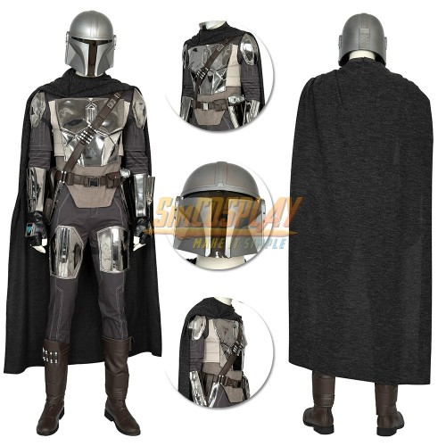 The Mandalorian Cosplay Costumes Star Wars Cosplay Suit Top Level