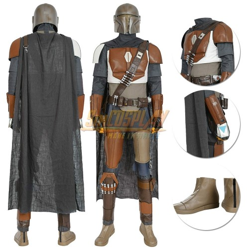 The Mandalorian Cosplay Costumes Star Wars Cosplay Suit Ver.3
