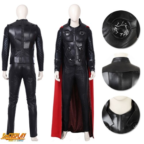 Thor Costume Endgame Thor Odinson Cosplay Suit Top Level