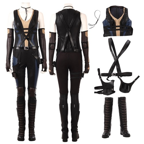 Top Level Domino Deadpool 2 Cosplay Costume