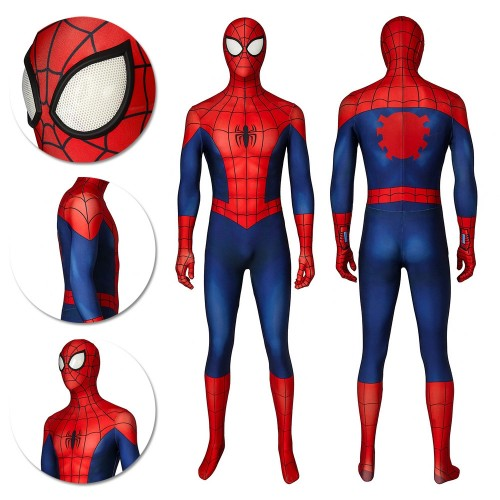 Ultimate Spider-Man Cosplay Costume Classic Ultimate Spiderman Spandex Suits