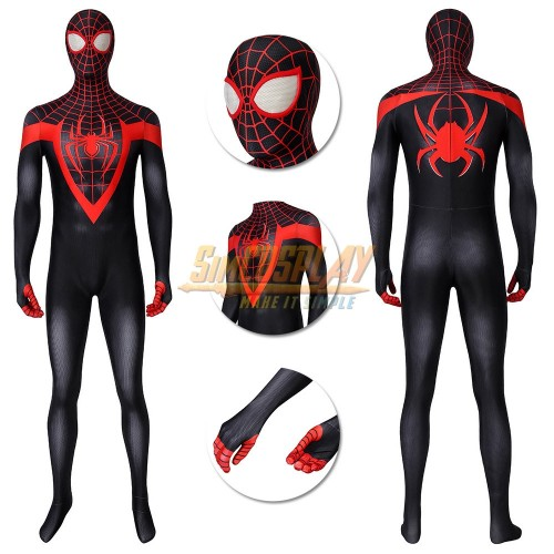 Spider-man Miles Morales Cosplay Suit Spider-man Cosplay Costume PS5 Edition
