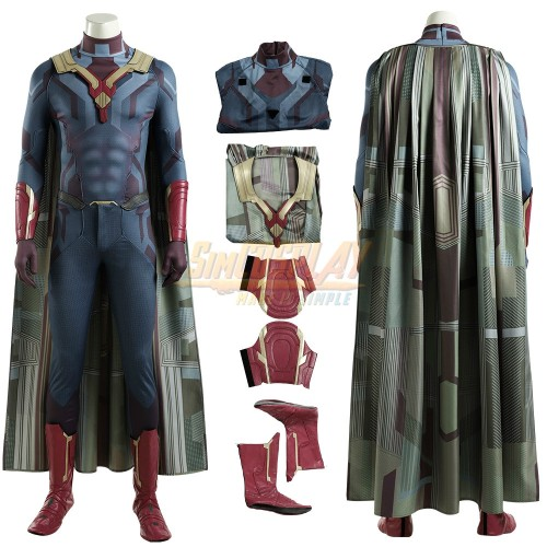 Vision Cosplay Costumes 2020 WandaVision Cosplay Suit