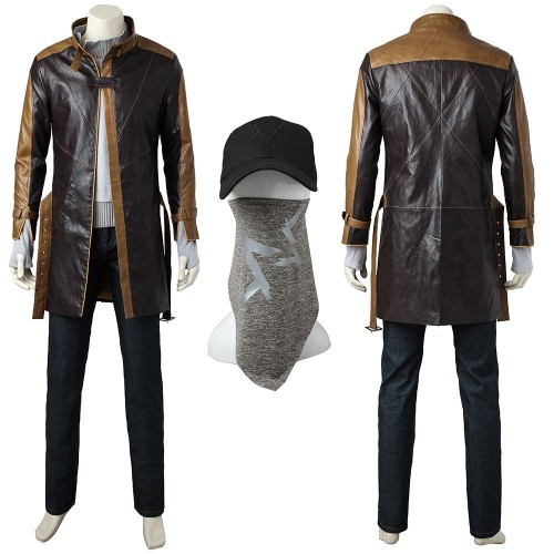 Watch Dogs Aiden Pearce Cosplay Costume Top Level