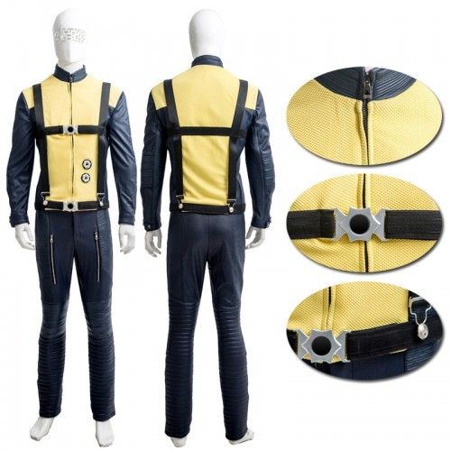 X-Men First Class Magneto Erik Lensherr Cosplay Costume sim1127xmm