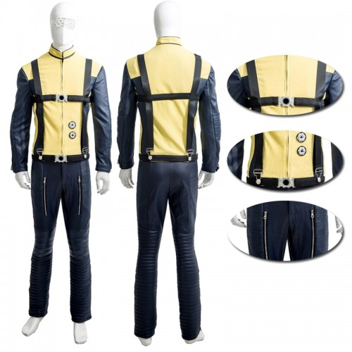 X-Men First Class Professor X Charles Francis Xavier Cosplay Costume sim1127xmpx