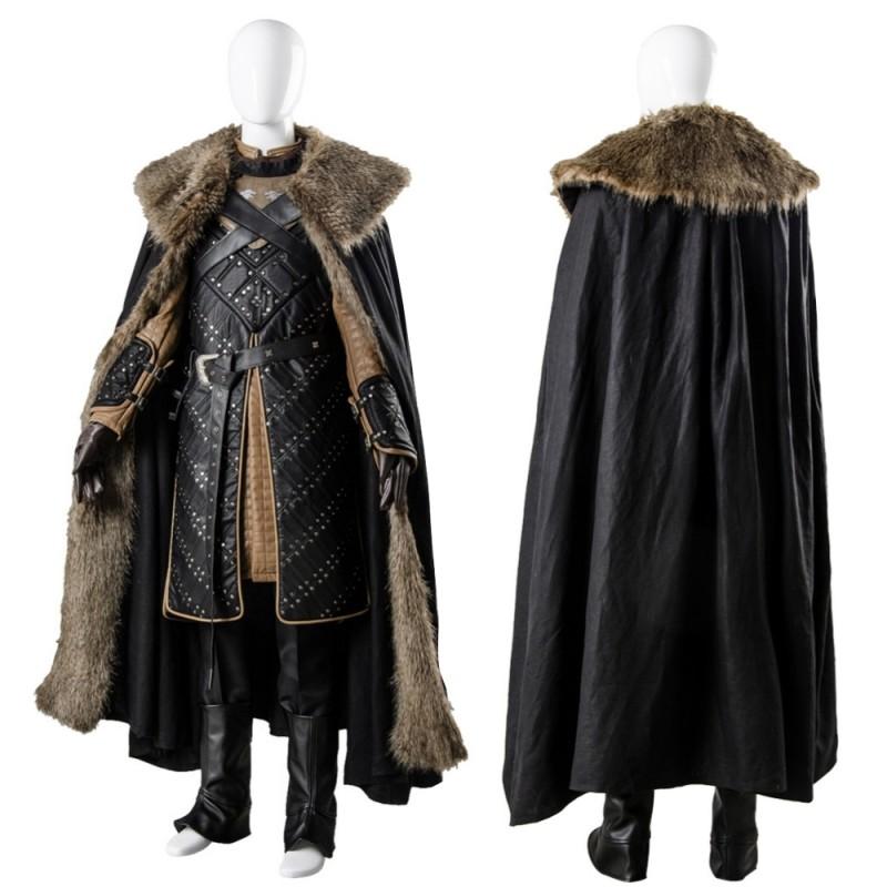 Jon Snow Stark Armor Cosplay Costume Battle Suit Game Of Thrones Season 7 Costume Jon snow has weathered his fair share of battles. jon snow stark armor cosplay costume