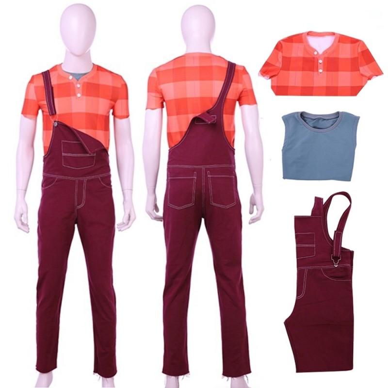 uk availability ff013 9b61d Ralph Breaks the Internet: Wreck-It Ralph 2 Cosplay Costume