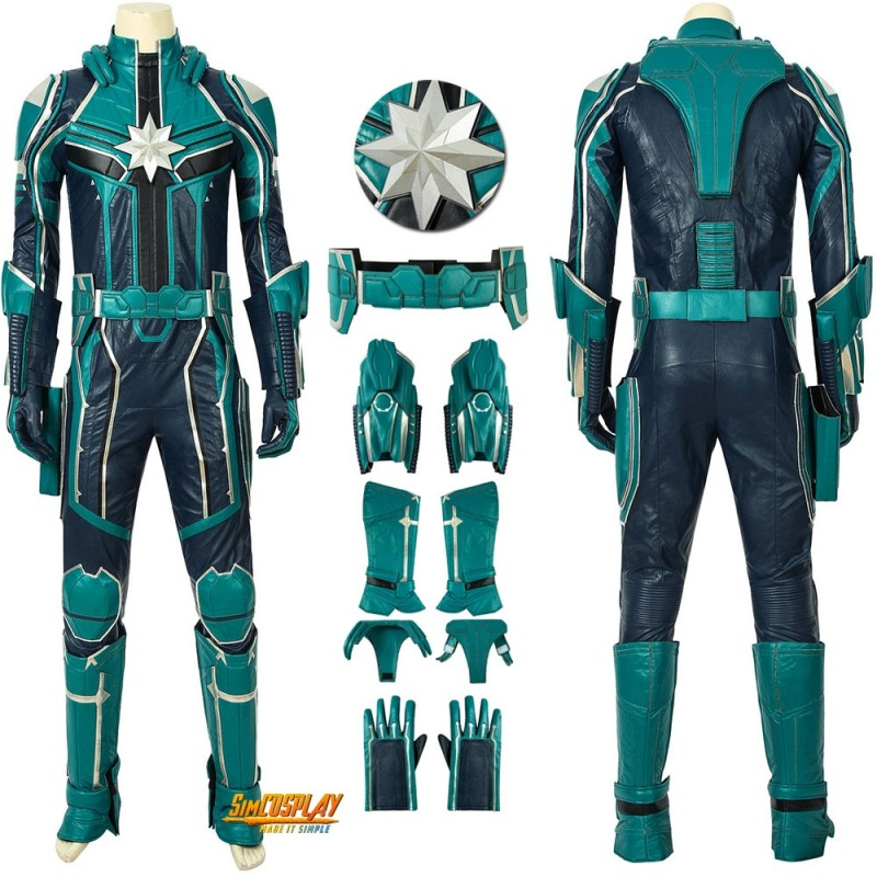 Captain Marvel Yon Rogg Costumes Starforce Cosplay Uniform Male Suits For the best experience on our site, be sure to turn on javascript in your browser. usd