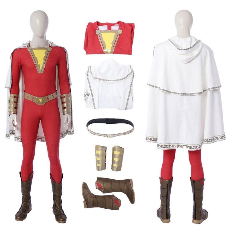 Shazam Billy Batson Cosplay Costume Handmade