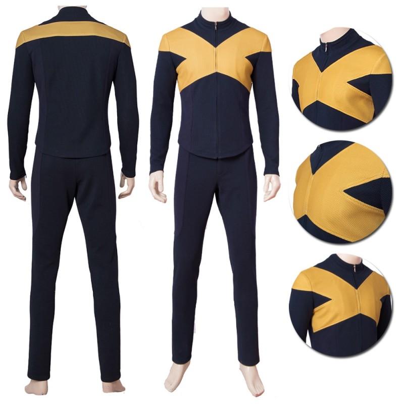 X Men Uniform Suit Dark Phoenix 2019 Cosplay Costume Top Level