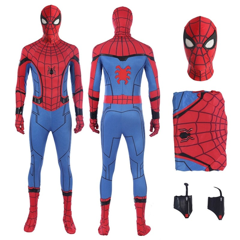 Spider Man Homecoming Tom Holland Cosplay Costume Easy Use Edition