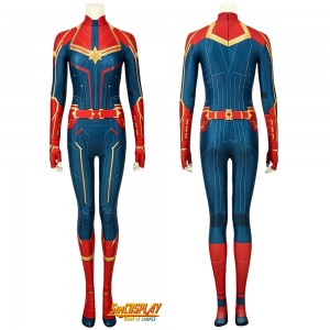 Captain Marvel Cosplay Costumes With Different Types Of Designs Simcosplay Shooting started on the los angeles set in march and showed the comicbook hero is full action hero mode. captain marvel cosplay costumes with
