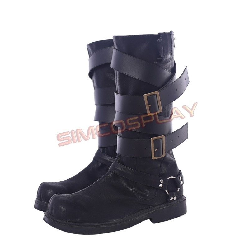 Devil May Cry 4 Nero Game Cosplay Dante Vergil  Boots Boot Shoes Equipment
