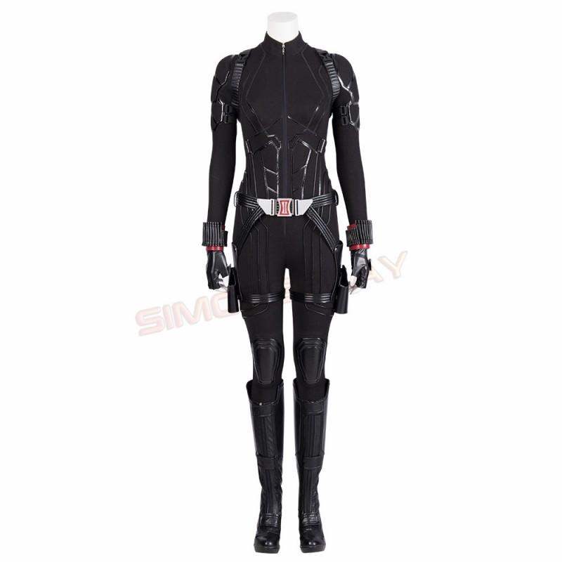 Black Widow Costumes Endgame Natasha Romanoff Suit Top Level