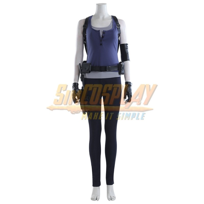 Resident Evil 3 Remake Cosplay Jill Valentine Classic Cosplay Costume