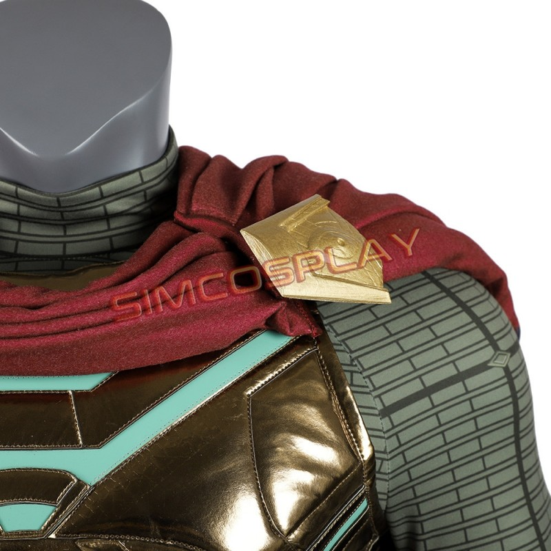 Mysterio Cosplay Costumes Spiderman Far From Home Quentin