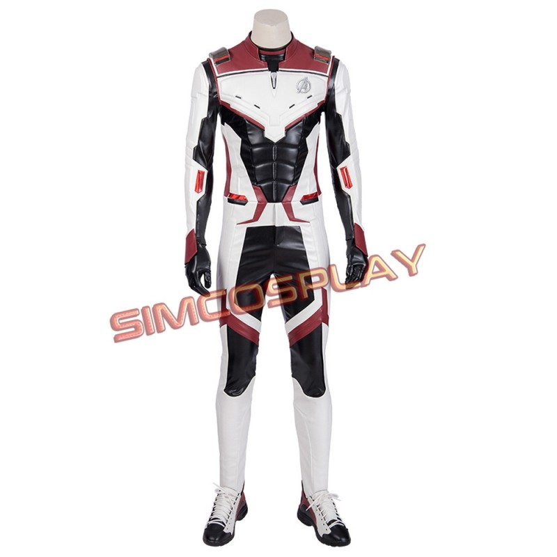 Avengers Endgame Quantum Realm Suits Cosplay Costume Top Level