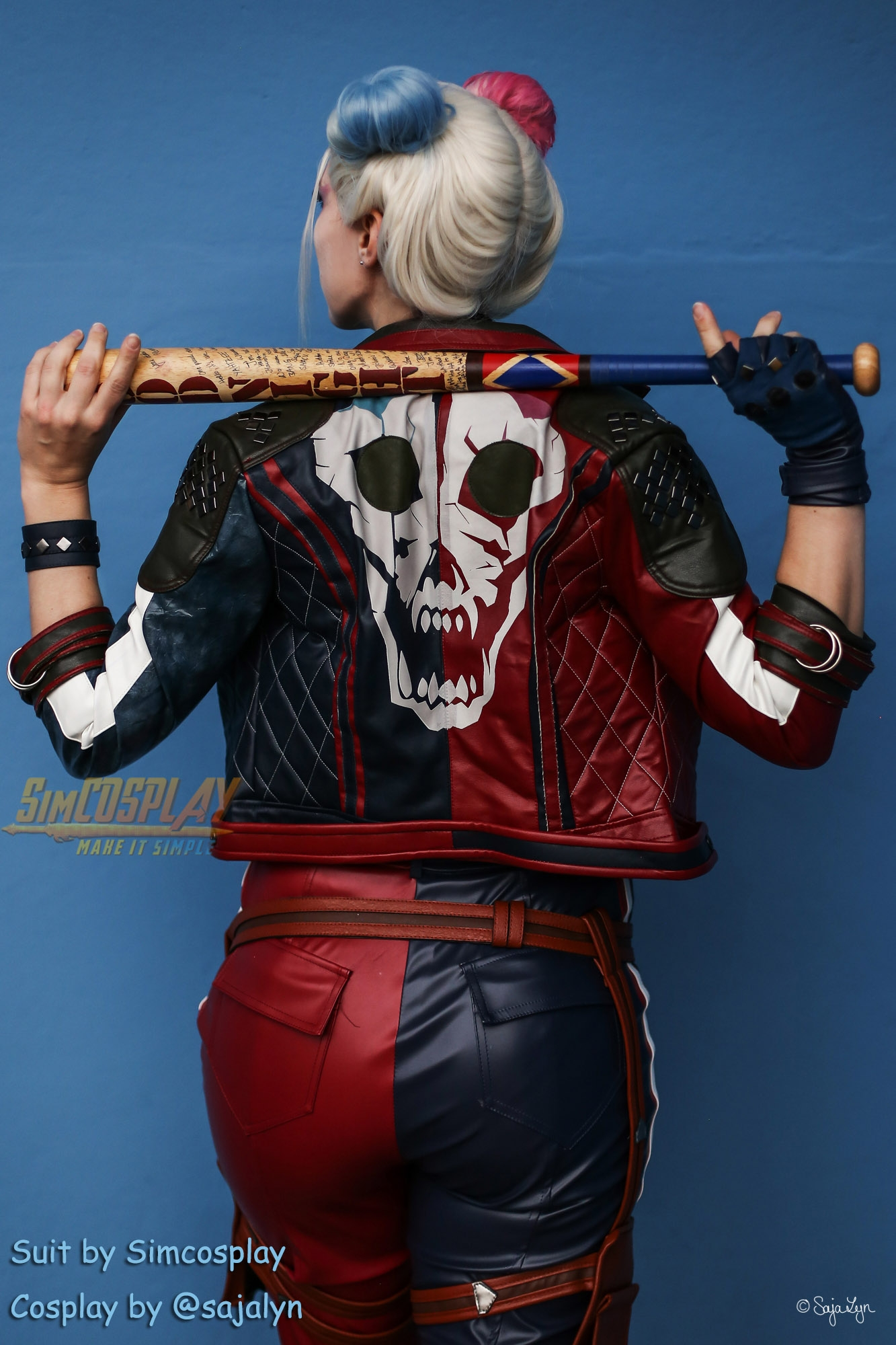 Harley Quinn Cosplay Costumes Suicide Squad Kill the Justice League Edition Cosplay Suit - SimCosplay